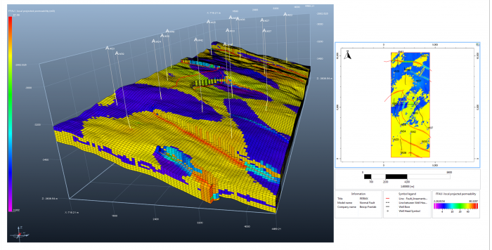 Two upscaling methods are available for fracture equivalent parameters computation: analytical and flow-based.